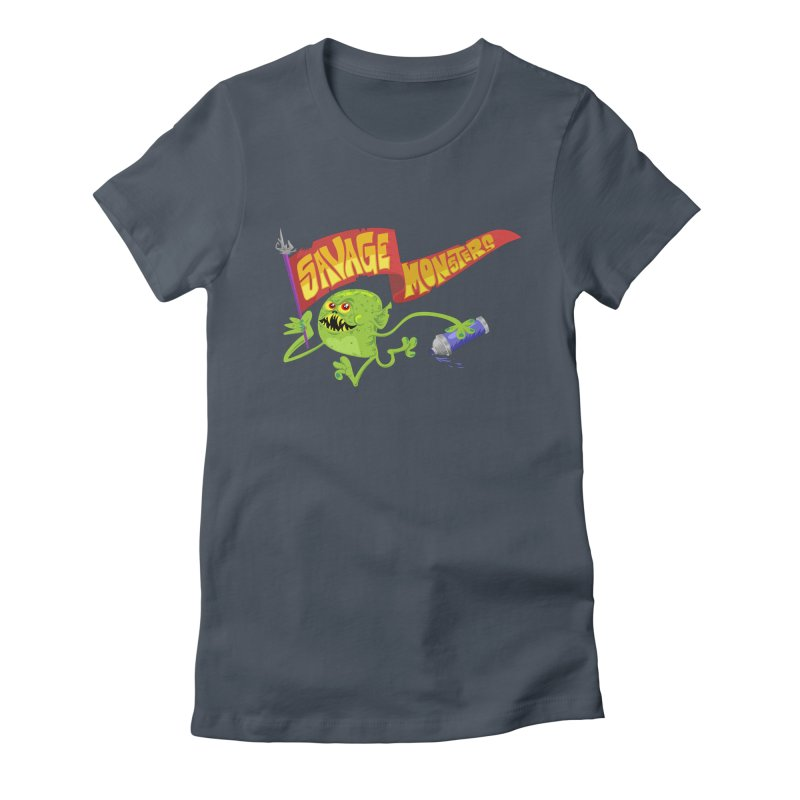 Clarence with Banner Women's T-Shirt by SavageMonsters's Artist Shop