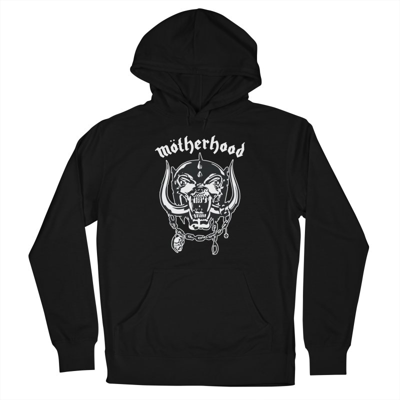 Mötherhood Women's French Terry Pullover Hoody by SavageMonsters's Artist Shop