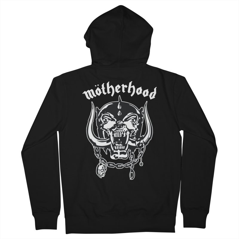 Mötherhood Women's French Terry Zip-Up Hoody by SavageMonsters's Artist Shop