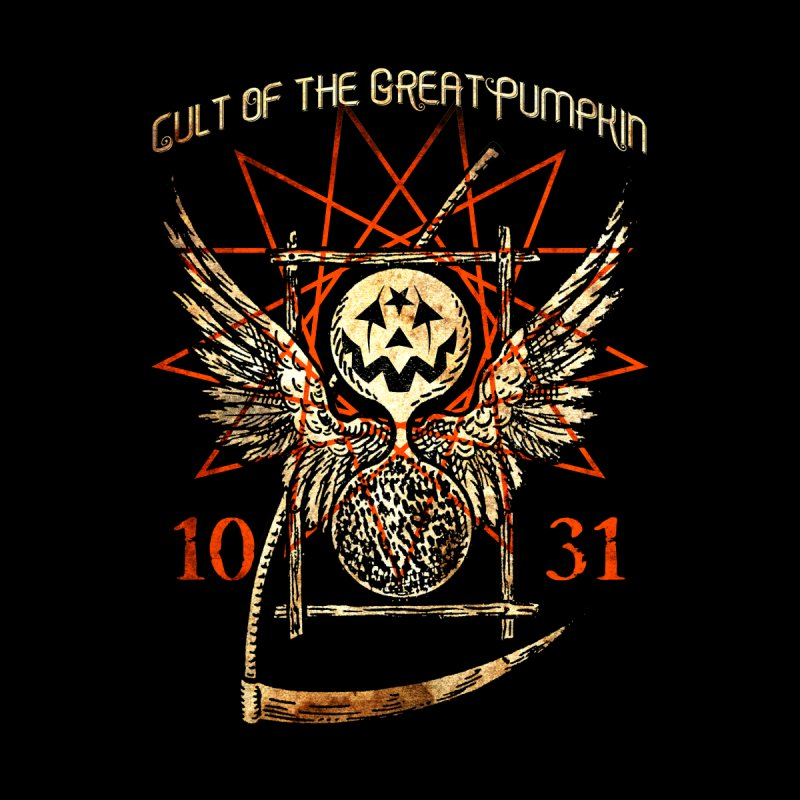 Cult of the Great Pumpkin: Thanatos Hourglass by The Dark Art of Chad Savage
