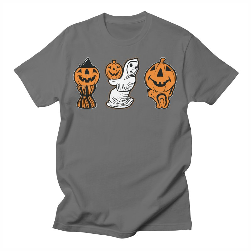 Vintage Halloween Blow Molds Men's T-Shirt by The Dark Art of Chad Savage