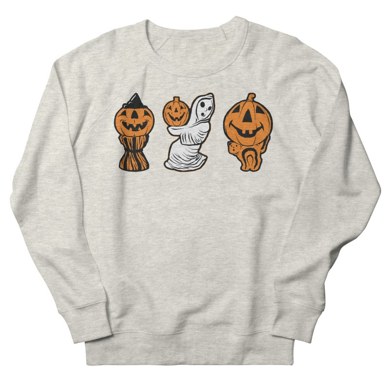 Vintage Halloween Blow Molds Men's Sweatshirt by The Dark Art of Chad Savage