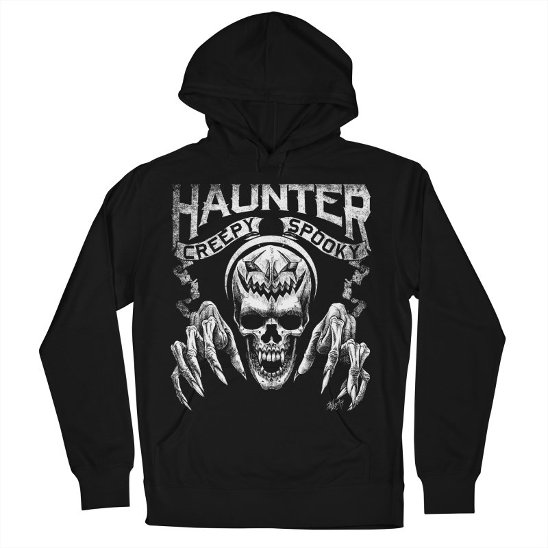 HAUNTER Women's Pullover Hoody by The Dark Art of Chad Savage