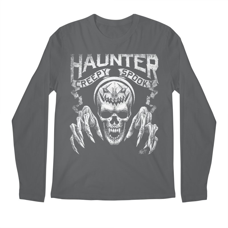 HAUNTER Men's Longsleeve T-Shirt by The Dark Art of Chad Savage