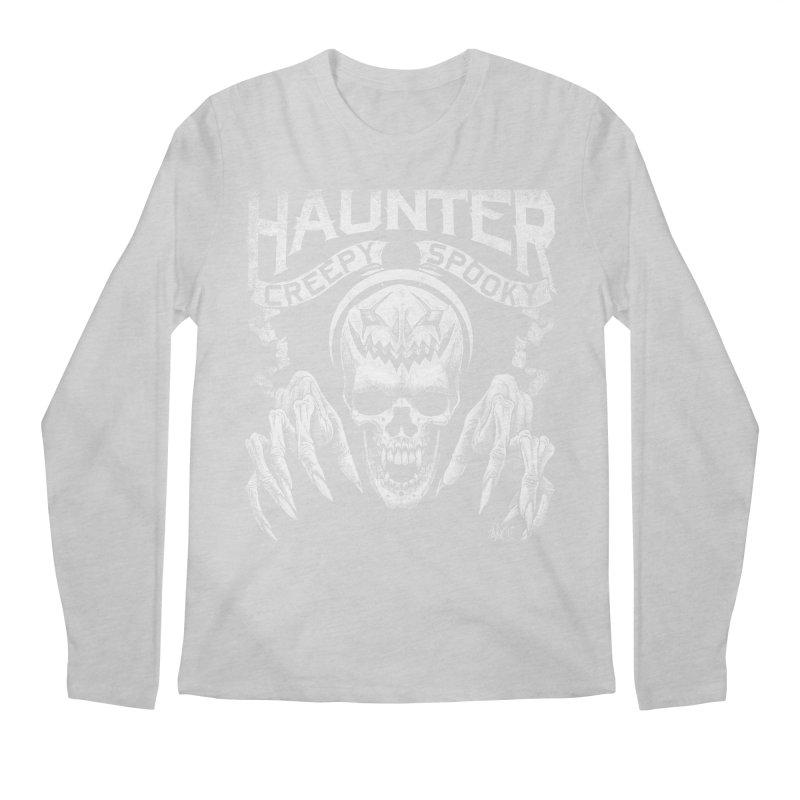 HAUNTER Men's Longsleeve T-Shirt by The Dark Art of Chad Savage