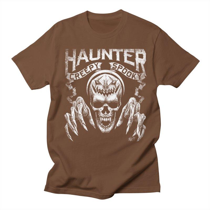 HAUNTER Men's T-shirt by The Dark Art of Chad Savage