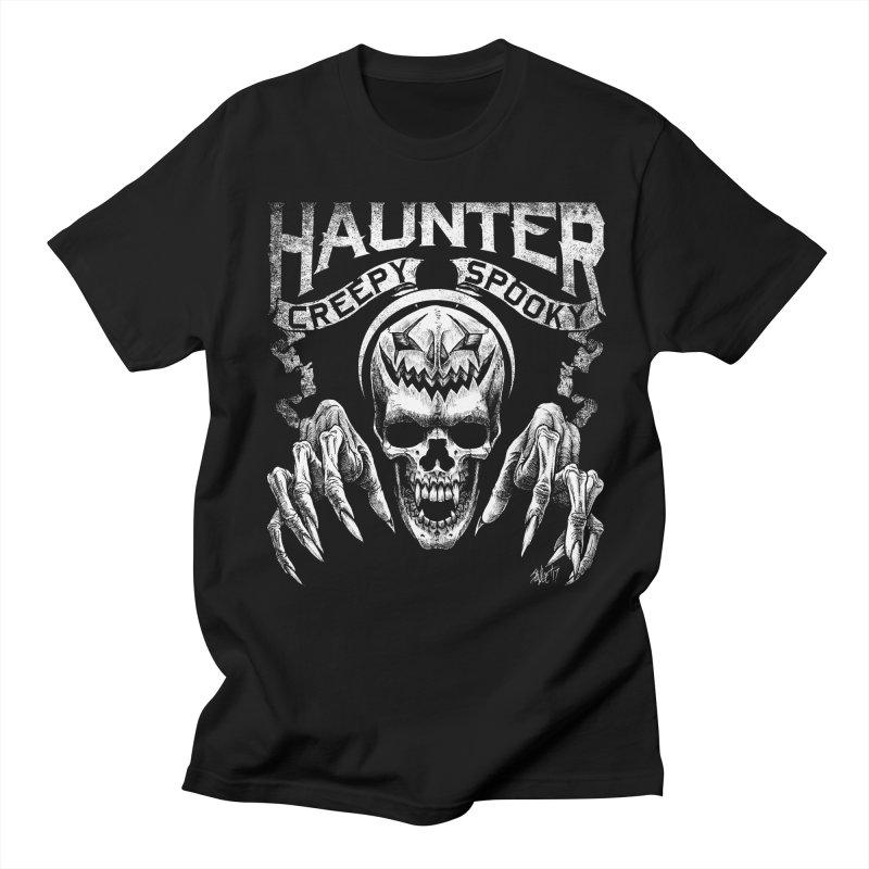 HAUNTER Women's Unisex T-Shirt by The Dark Art of Chad Savage