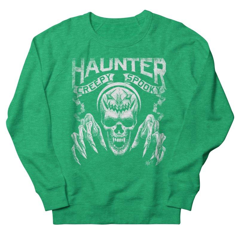 HAUNTER Women's Sweatshirt by The Dark Art of Chad Savage