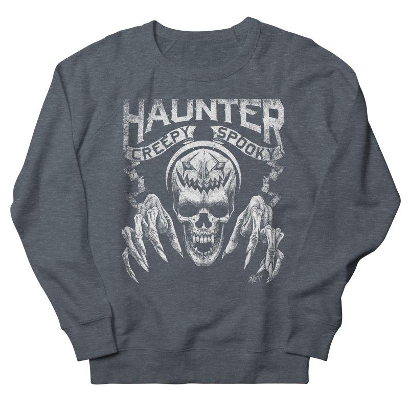 HAUNTER Men's Sweatshirt by The Dark Art of Chad Savage