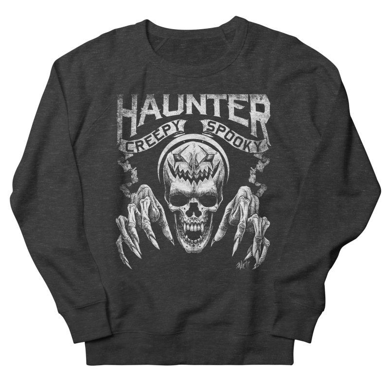 HAUNTER Men's Sweatshirt by The Dark Art of Chad Savage
