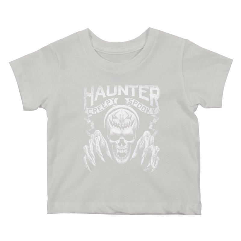 HAUNTER Kids Baby T-Shirt by The Dark Art of Chad Savage