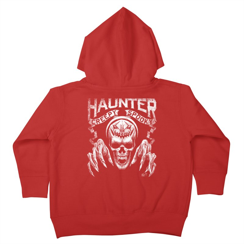 HAUNTER Kids Toddler Zip-Up Hoody by The Dark Art of Chad Savage