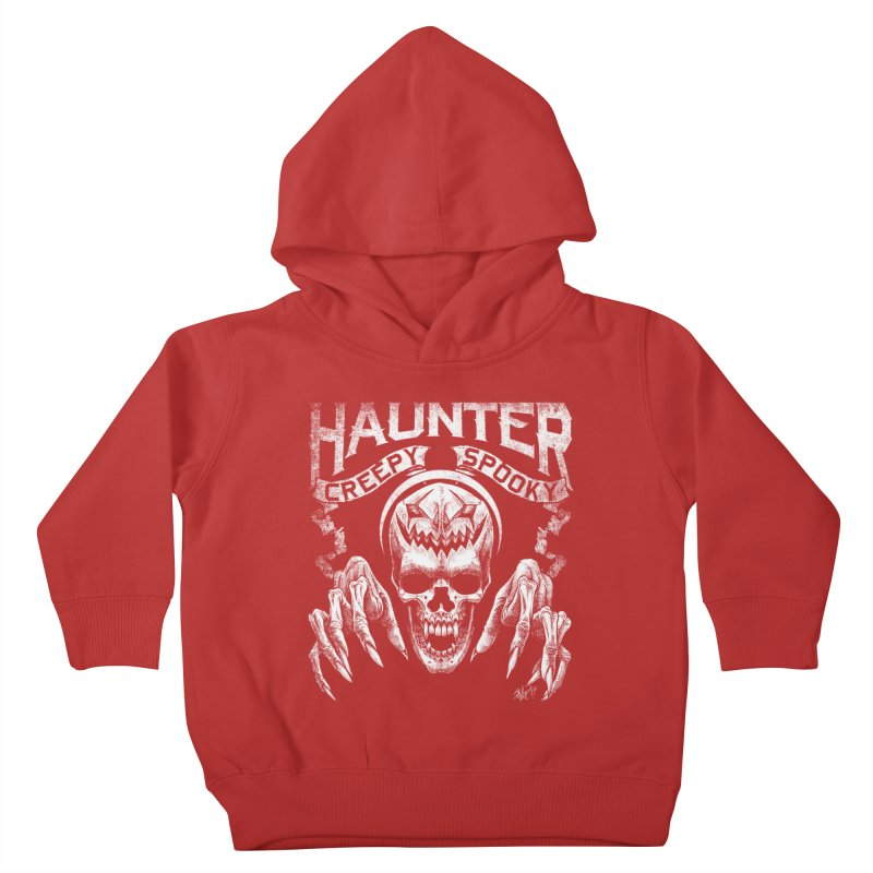 HAUNTER Kids Toddler Pullover Hoody by The Dark Art of Chad Savage