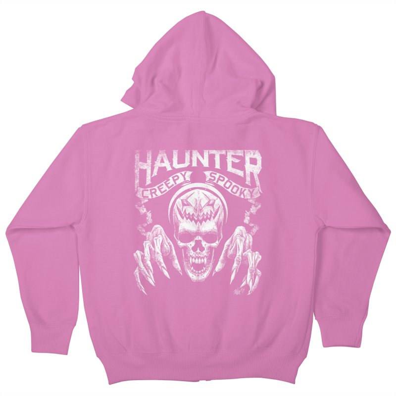 HAUNTER Kids Zip-Up Hoody by The Dark Art of Chad Savage