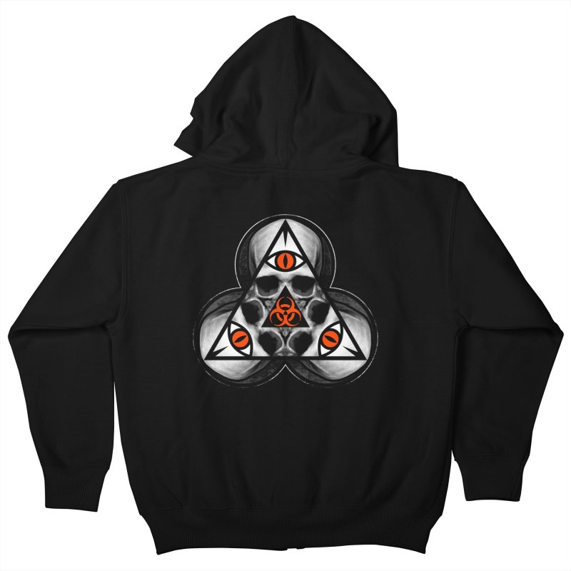 Biohazard TriSkull   by The Dark Art of Chad Savage