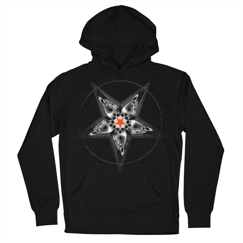 Corvus Pentacle Women's Pullover Hoody by The Dark Art of Chad Savage
