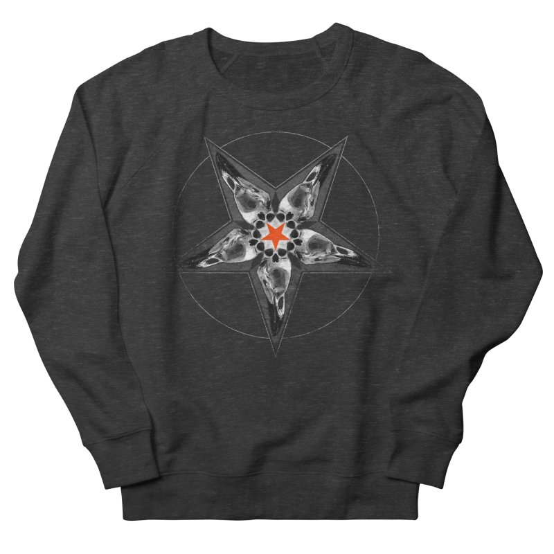 Corvus Pentacle Men's Sweatshirt by The Dark Art of Chad Savage