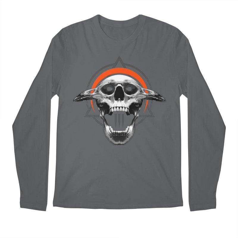 Corvus TriSkull Men's Longsleeve T-Shirt by The Dark Art of Chad Savage