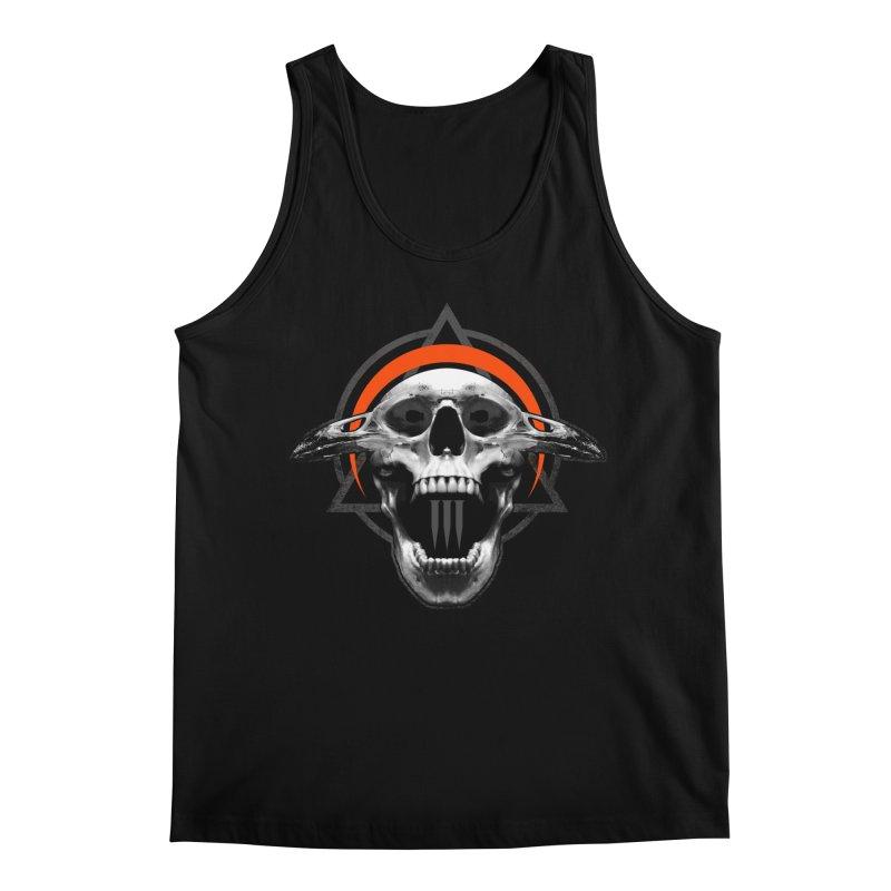 Corvus TriSkull Men's Regular Tank by The Dark Art of Chad Savage