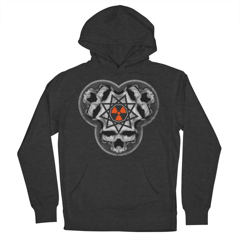 Enneagram Skull Women's French Terry Pullover Hoody by The Dark Art of Chad Savage