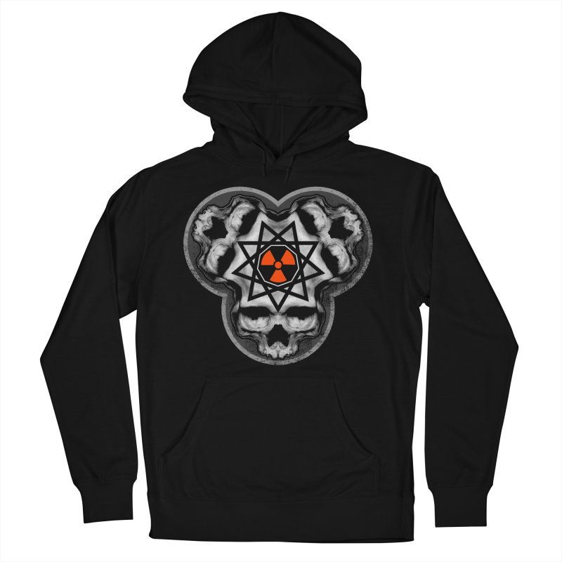 Enneagram Skull Men's French Terry Pullover Hoody by The Dark Art of Chad Savage