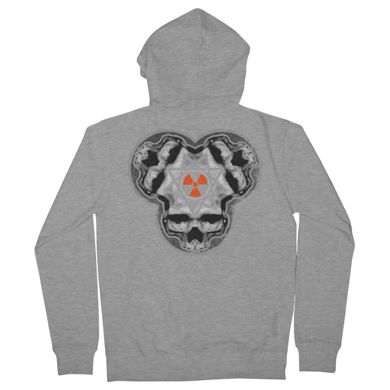 Enneagram Skull Men's French Terry Zip-Up Hoody by The Dark Art of Chad Savage