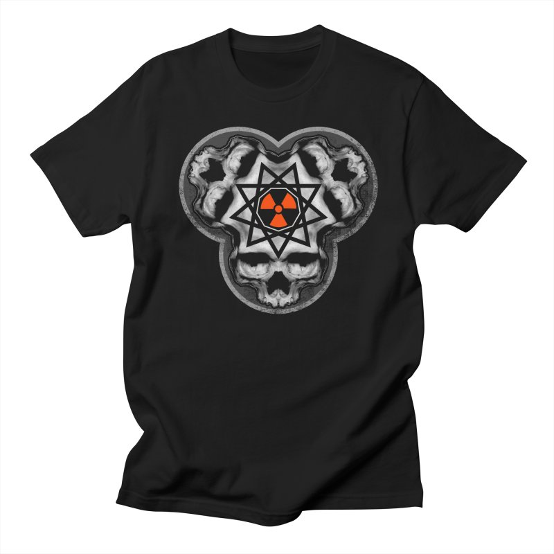 Enneagram Skull Women's Regular Unisex T-Shirt by The Dark Art of Chad Savage