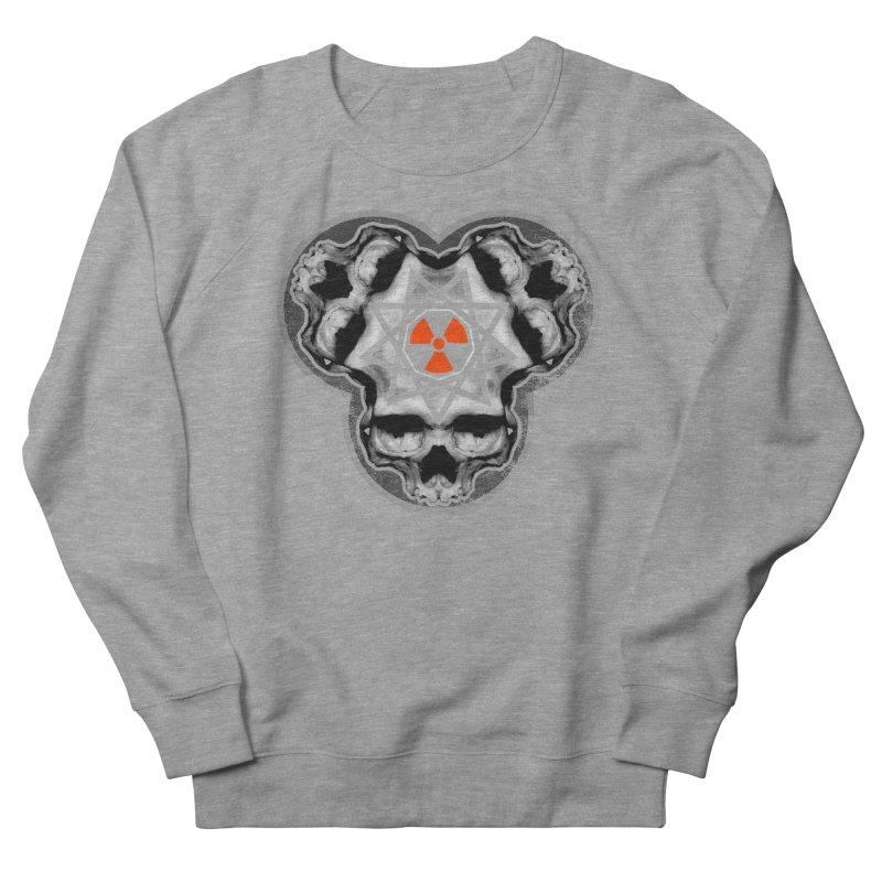 Enneagram Skull Women's French Terry Sweatshirt by The Dark Art of Chad Savage
