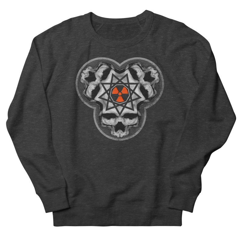 Enneagram Skull Men's Sweatshirt by The Dark Art of Chad Savage