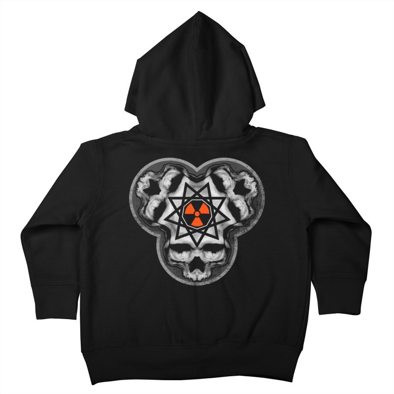 Enneagram Skull Kids Toddler Zip-Up Hoody by The Dark Art of Chad Savage