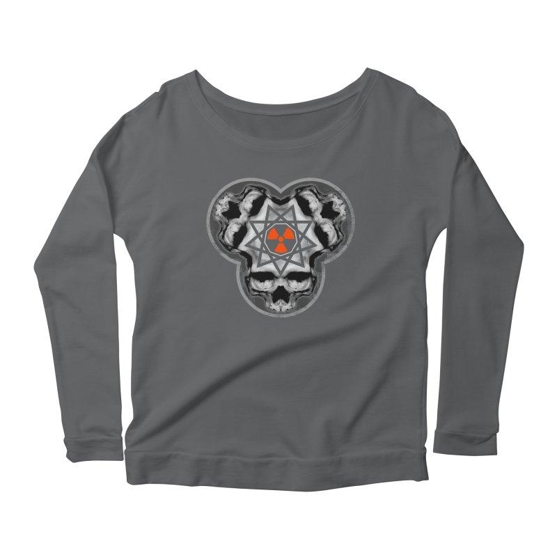 Enneagram Skull Women's Longsleeve T-Shirt by The Dark Art of Chad Savage