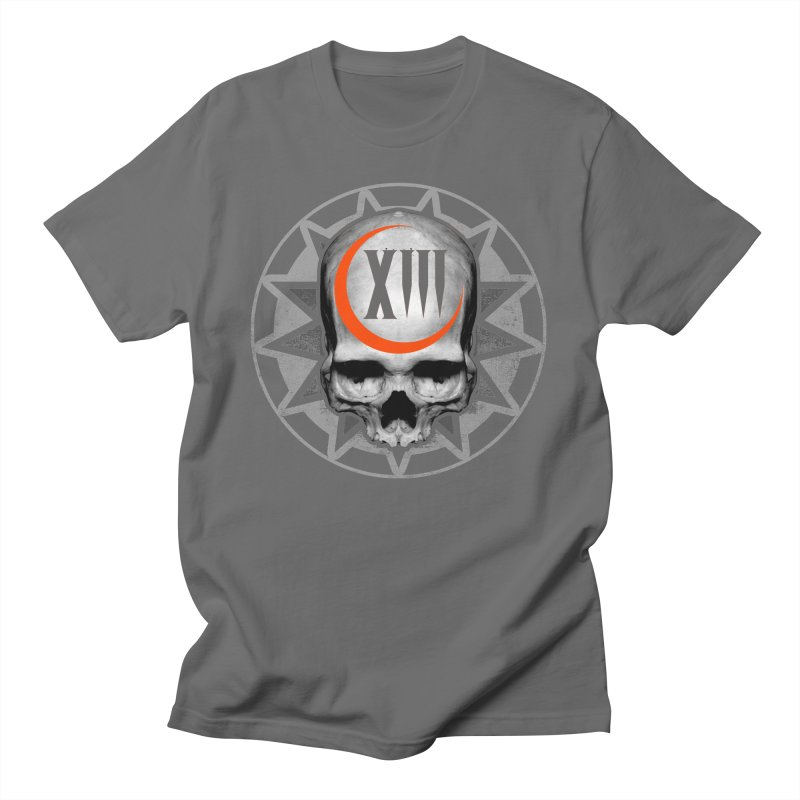 Lucky 13 Skull Men's T-Shirt by The Dark Art of Chad Savage