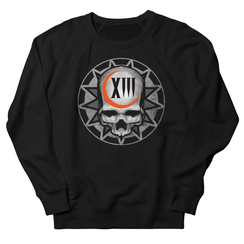 Lucky 13 Skull Women's Sweatshirt by The Dark Art of Chad Savage