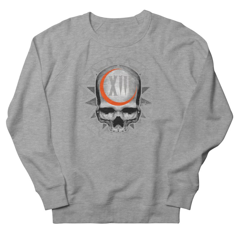 Lucky 13 Skull Men's Sweatshirt by The Dark Art of Chad Savage