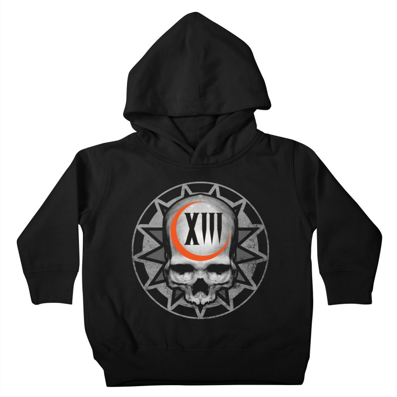 Lucky 13 Skull Kids Toddler Pullover Hoody by The Dark Art of Chad Savage