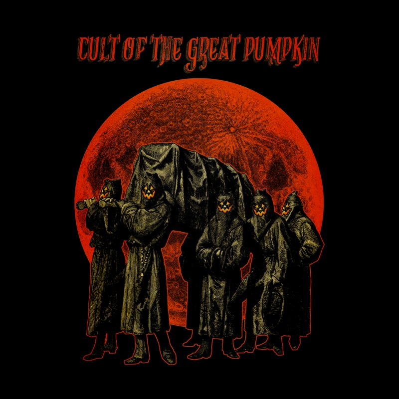 Cult of the Great Pumpkin: Pallbearers Women's Zip-Up Hoody by The Dark Art of Chad Savage