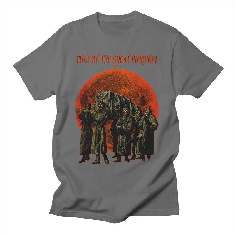 Cult of the Great Pumpkin: Pallbearers Men's T-Shirt by The Dark Art of Chad Savage