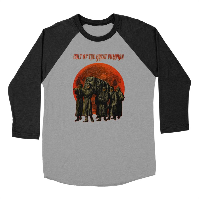 Cult of the Great Pumpkin: Pallbearers Men's Longsleeve T-Shirt by The Dark Art of Chad Savage