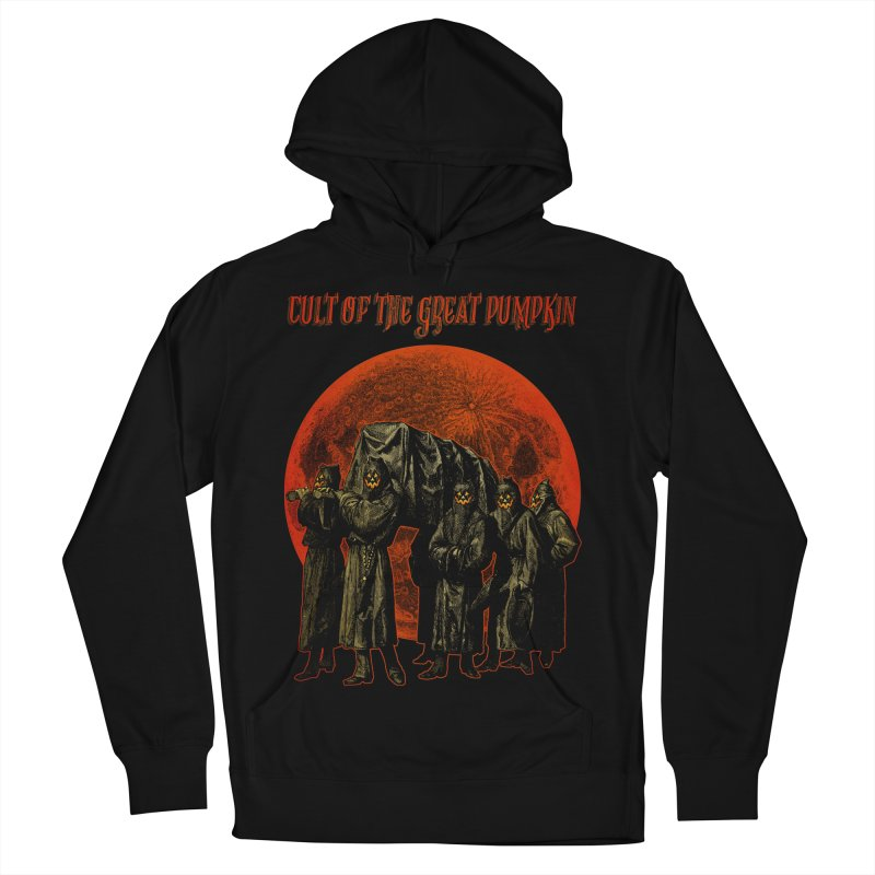 Cult of the Great Pumpkin: Pallbearers Women's French Terry Pullover Hoody by The Dark Art of Chad Savage