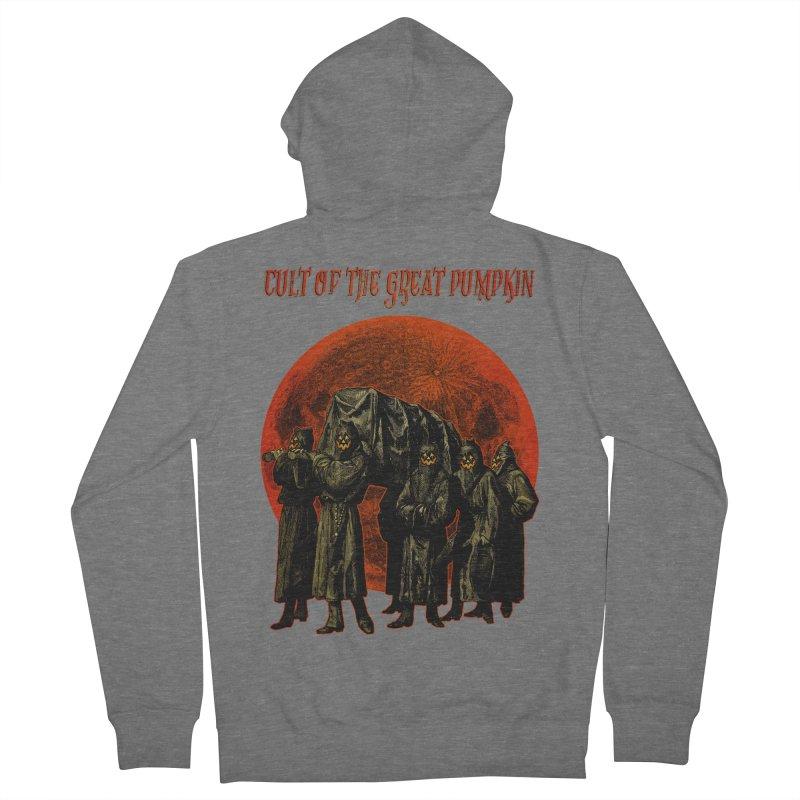 Cult of the Great Pumpkin: Pallbearers Women's Zip-Up Hoody by The Dark Art of Chad Savage