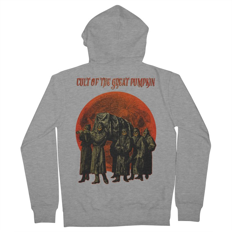 Cult of the Great Pumpkin: Pallbearers Men's Zip-Up Hoody by The Dark Art of Chad Savage