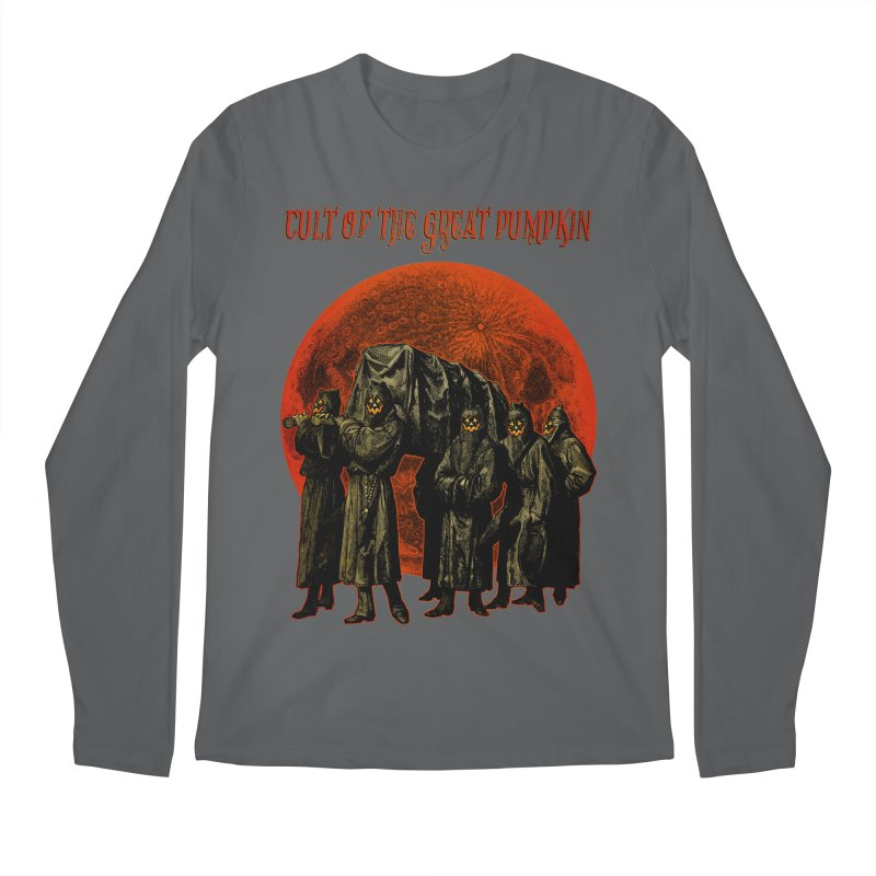 Cult of the Great Pumpkin: Pallbearers Men's Longsleeve T-Shirt by The Dark Art of Chad Savage