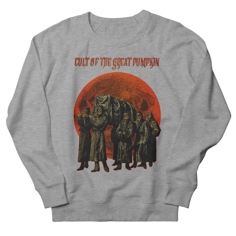 Cult of the Great Pumpkin: Pallbearers Men's Sweatshirt by The Dark Art of Chad Savage