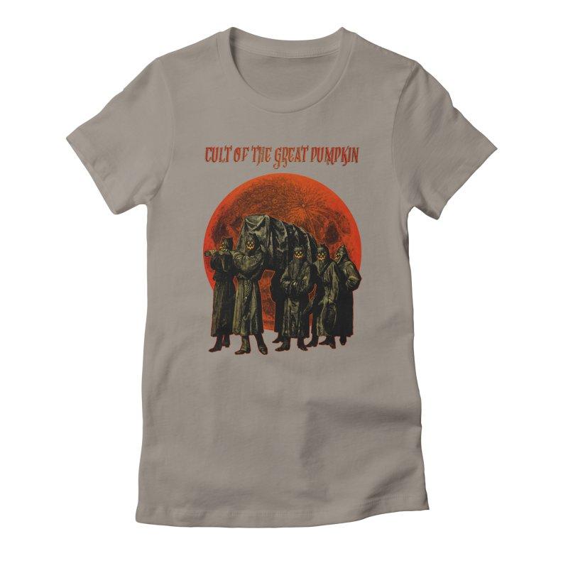 Cult of the Great Pumpkin: Pallbearers Women's T-Shirt by The Dark Art of Chad Savage