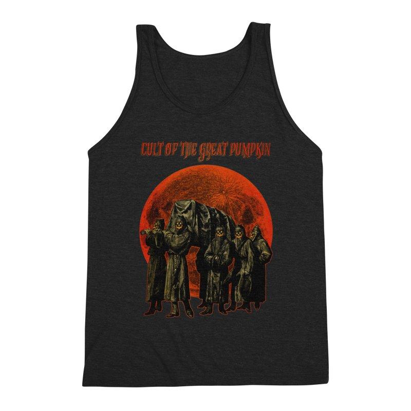 Cult of the Great Pumpkin: Pallbearers Men's Tank by The Dark Art of Chad Savage