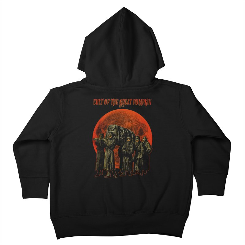 Cult of the Great Pumpkin: Pallbearers Kids Toddler Zip-Up Hoody by The Dark Art of Chad Savage
