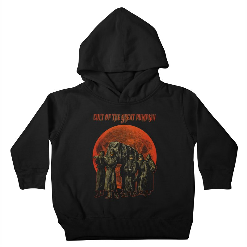 Cult of the Great Pumpkin: Pallbearers Kids Toddler Pullover Hoody by The Dark Art of Chad Savage