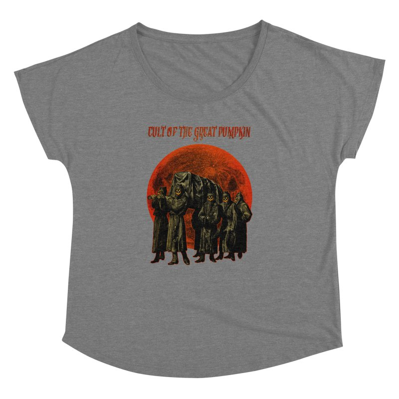 Cult of the Great Pumpkin: Pallbearers Women's Dolman by The Dark Art of Chad Savage