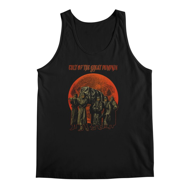 Cult of the Great Pumpkin: Pallbearers Men's Regular Tank by The Dark Art of Chad Savage