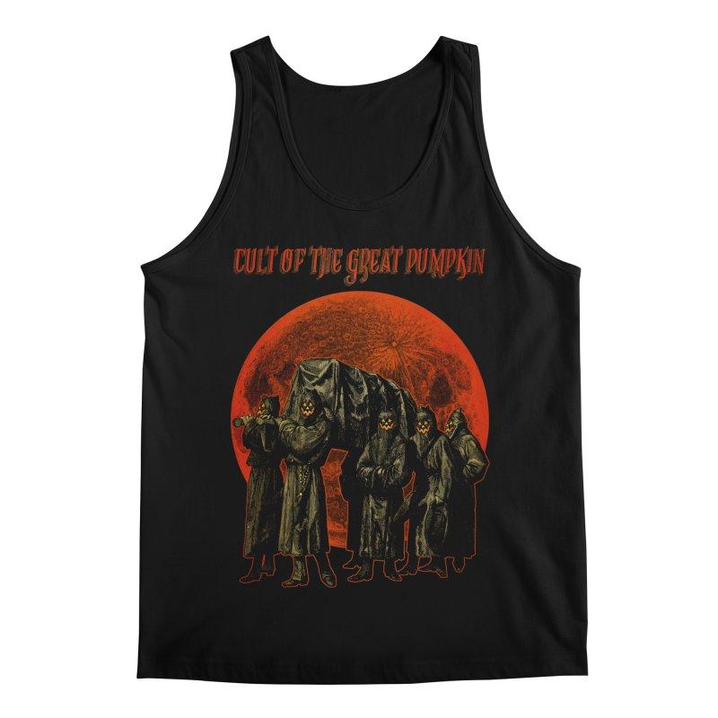 Cult of the Great Pumpkin: Pallbearers Men's Regular Tank by The Dark Art of Chad Savage